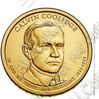 США 1$ 2014P (арт352) 30й президент Calvin Coolidge